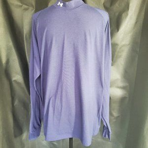 Under Armour Blue Turtle Neck Long Sleeved Shirt